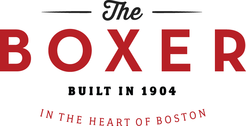 The Boxer Boston Logo